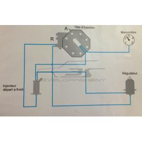 Montage régulateur 3s entrée et sortie dh3