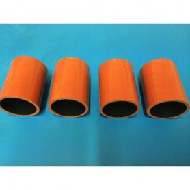 Durites échangeur silicone fluoré D 45mm - L 70mm - 4 plis (par 4)