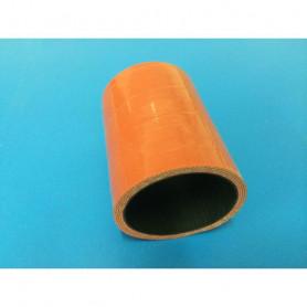 Durites échangeur silicone fluoré D 50mm - L 70mm - 4 plis (la pièce)