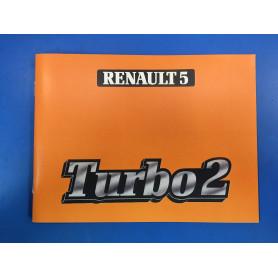 Manuel d'utilisation R5 Turbo 2