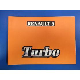 Manuel d'utilisation R5 Turbo