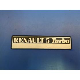 Monogramme tableau de bord Turbo 1