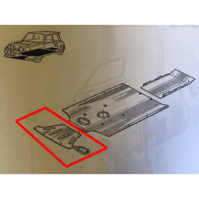 Protection fond plat origine Renault 5 turbo