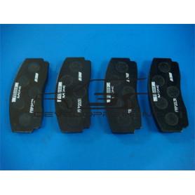 Plaquettes de frein TDC AV OU AR carbon lorraine