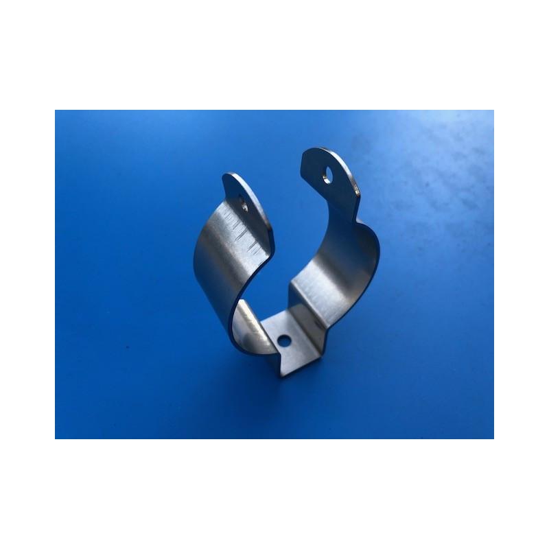 Collier Support filtre a essence en inox D 55mm