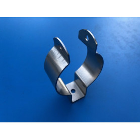 Collier Support filtre a essence TDC en inox D 75mm