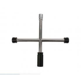 Croix de roue inox