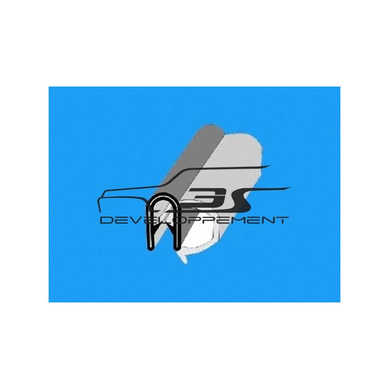Joint de vitre latérale AR L : 2.05m