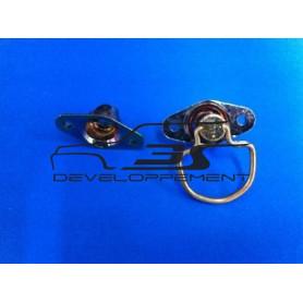 Quart de tour avec anneau rabattable et récepteur (1 pièce)
