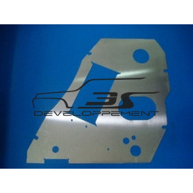 Platine support radiateur d'huile