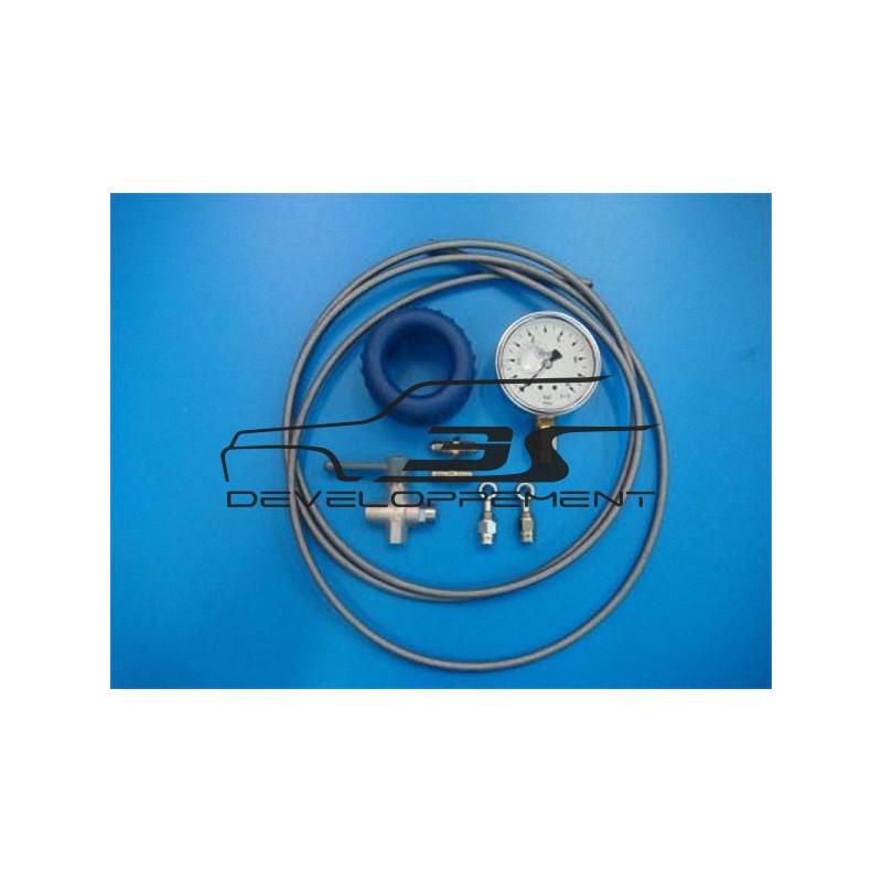 Manomètre de contrôle de pression du circuit d'essence