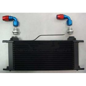Kit radiateur d'huile avec raccords Aéroquip