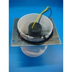 Extracteur d'air chaud compartiment moteur.