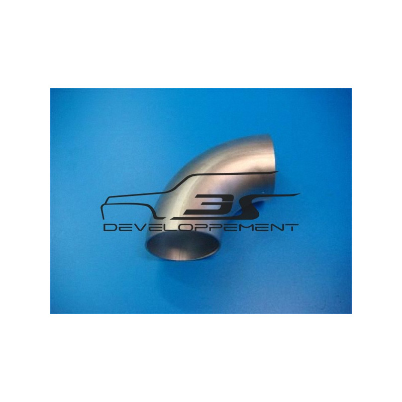 Coude INOX soudé 316L  PR38   33.7 x 1.6