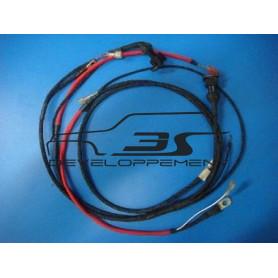 Faisceau électrique moteurs préparés avec commande inj départ à froid et régulateur